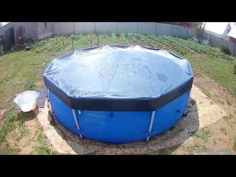 Тент для каркасных бассейнов INTEX