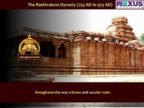 The Rashtrakutas - (Social Science) - Iken School - (English audio)