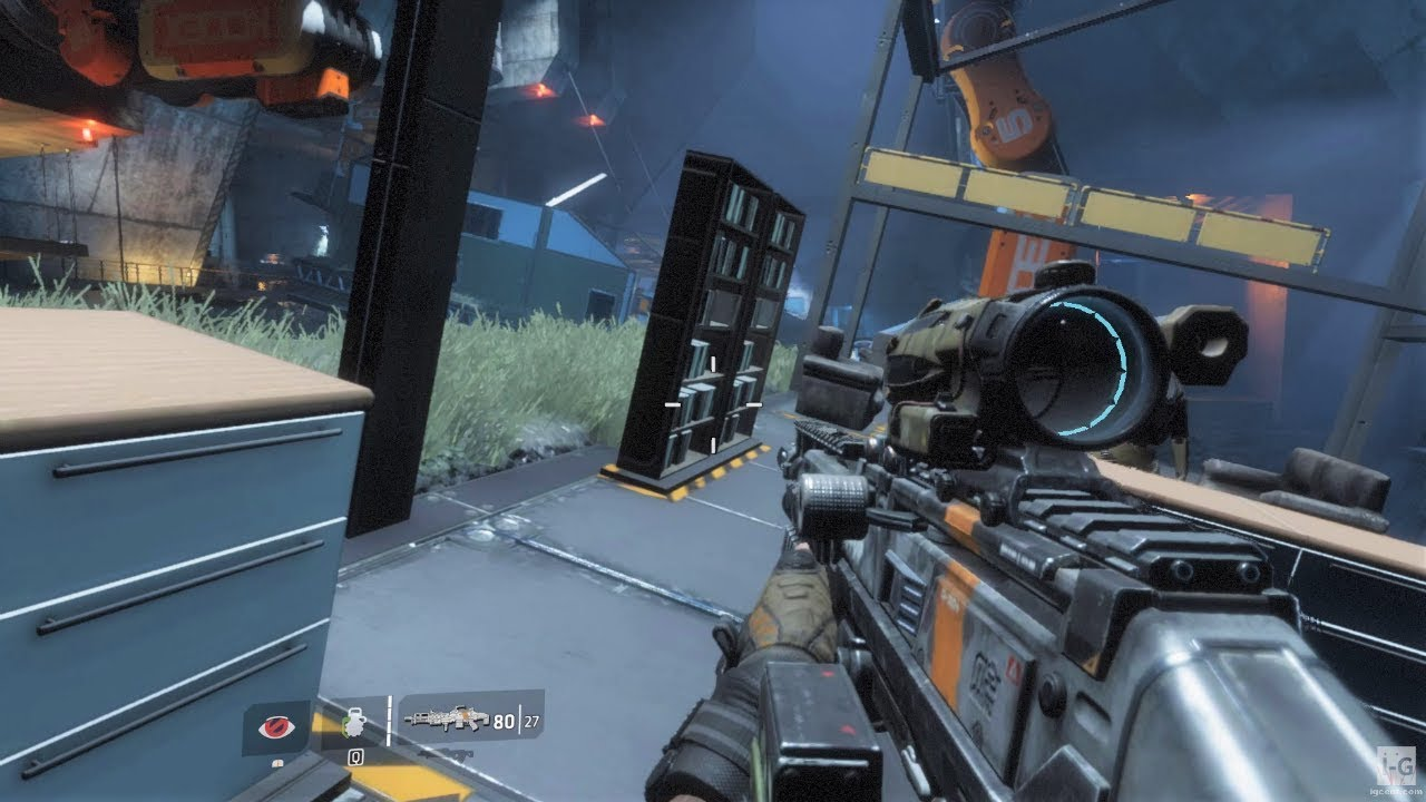 Finding the BT-7274 in the Facility - Titanfall 2 - YouTube