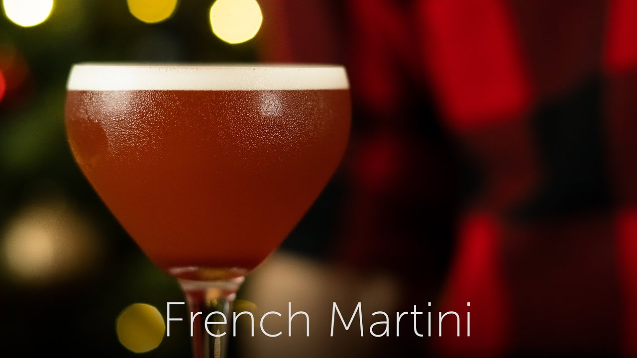 French Martini | 12 Days of Cocktails - Day 02