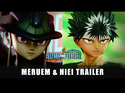 JUMP FORCE - Meruem and Hiei DLC Trailer | X1, PS4, PC, NSW