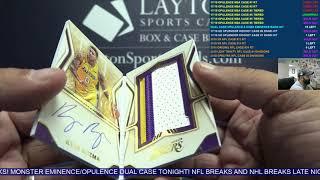 2017-18 Panini Opulence Basketball 3 Box Case Break #4
