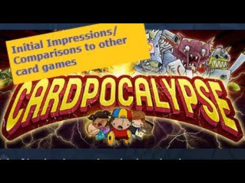 Cardpocalypse - Quick Gameplay Look |