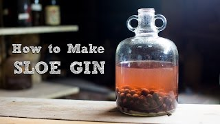 How to Make Sloe Gin - Simple and Amazing | Food It Yourself