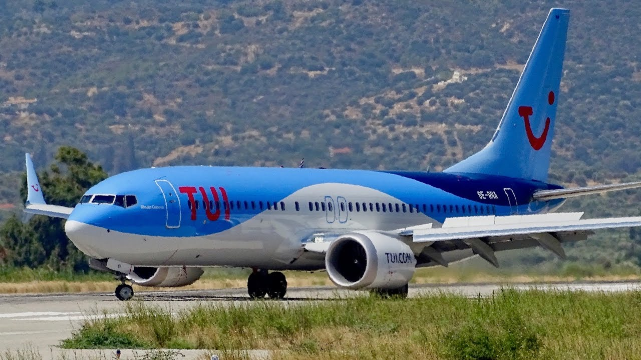 Boeing 737 800 Max: TUI TRAFFIC At Samos Airport