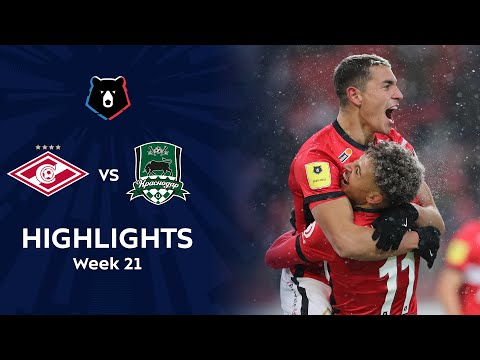 Spartak Moscow Krasnodar FK Goals And Highlights