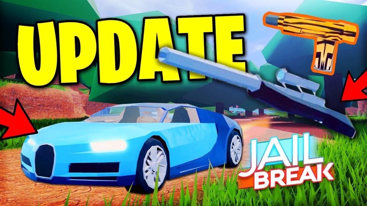 Full Guide Roblox Jailbreak Update Sniper And Revolver Location