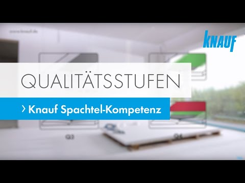 knauf spachtel qualit tsstufen youtube. Black Bedroom Furniture Sets. Home Design Ideas