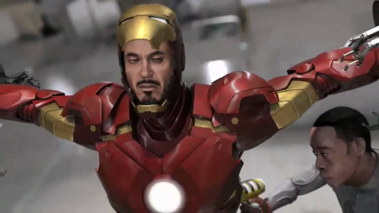 Iron man 2 game official trailer percent of people have gambling addiction
