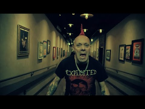 THE EXPLOITED - FUCK THE SYSTEM (Official Music Video)