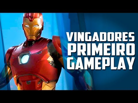 Primeiro gameplay do jogo dos Vingadores oficial revelado