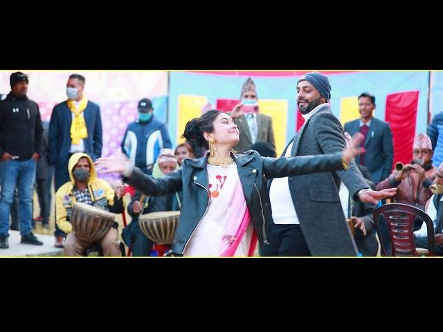 Panchebaja 2020 नेपाली पन्चेबाजामा बवाल नाच  #nepali panchebaja dance