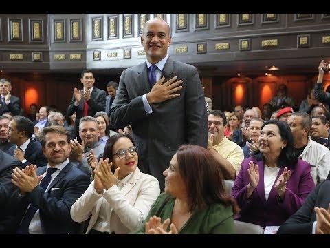 Discurso de Héctor Rodríguez ante la ANC tras ser juramentado