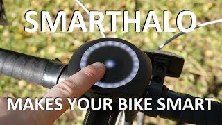 SmartHalo Review - the device that makes your bike smart