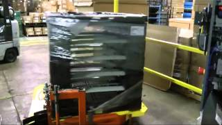 PHPA-2150 Automatic Pallet Wrapper Cut & Wipe System