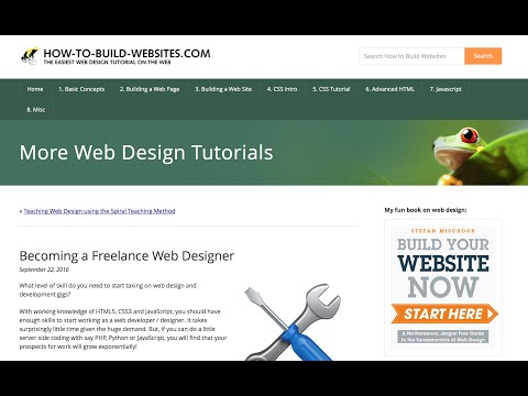 Freelance Web Designer Article