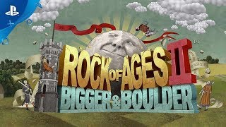 Rock of Ages 2: Bigger & Boulder - Re-Announcement Trailer | PS4