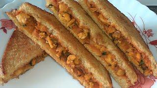 Chicken Sandwich Recipe in Hindi |  Quick & Easy Snack Recipe | Tasty Sandwich