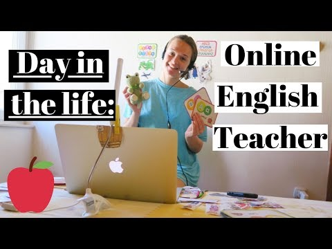 A DAY IN THE LIFE OF AN ONLINE ENGLISH TEACHER | TEACHING ENGLISH ONLINE TIPS