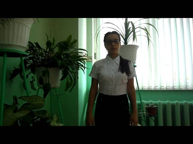 Эльвина Гилазутдинова читает произведение «За рекой луга зазеленели» (Бунин Иван Алексеевич)