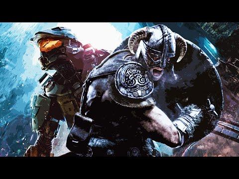 Skyrim & Halo   Theme Mashup