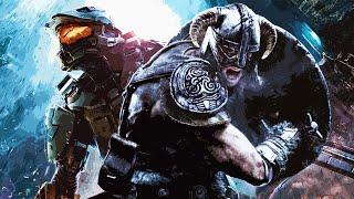 Скачать Skyrim Halo Theme Mashup