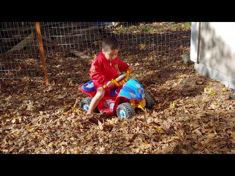 Review Of Power Wheels Nickelodeon PAW Patrol Lil' Quad (2018 Best Toy To Gift For Your Toddler)