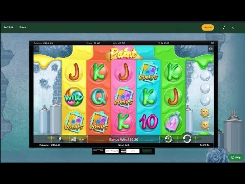 Online Slots with The Bandit - Gold Rush, Paint, Spinal Tap and More!