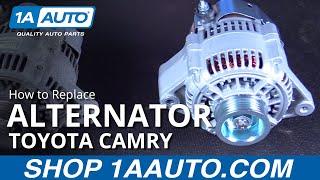 Hoe te Vervangen door Nieuwe Dynamo 97-01 Toyota Camry