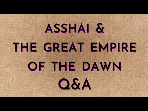 Asshai & GEotD Live Q&A and Chat