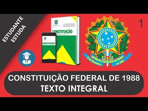 CONSTITUIÇÃO FEDERAL DE 1988 - TEXTO INTEGRAL - ATUALIZADA
