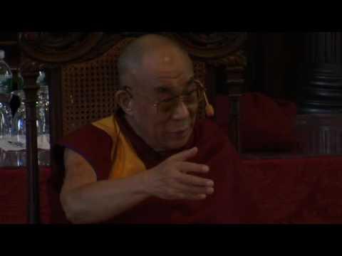 His Holiness the Dalai Lama speaks at Harvard