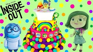 Inside Out Play Doh Surprise Cake!! Mystery Mini! Blind Bags! Shopkins! Pocket Pork Dumpling!