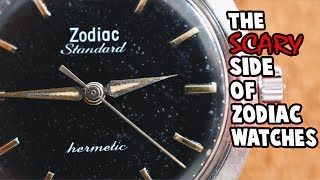 The Scary Side Of Zodiac Watches!