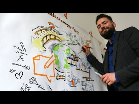 Graphic Recording: Sag es mal in Bildern