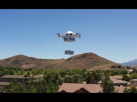 Flirtey unveils the future of drone delivery