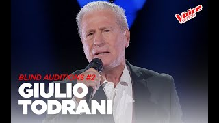 "Giulio Todrani  ""To love somebody""  - Blind Auditions #2- The Voice Senior"