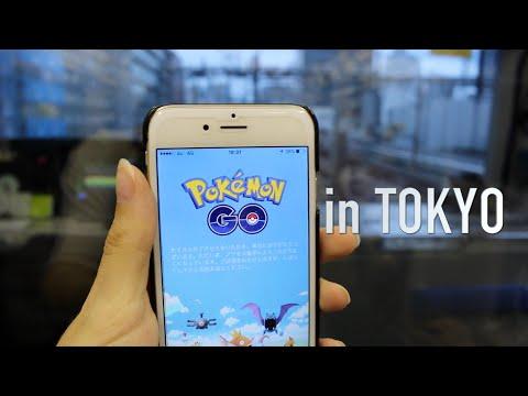 Pokemon Go in Tokyo