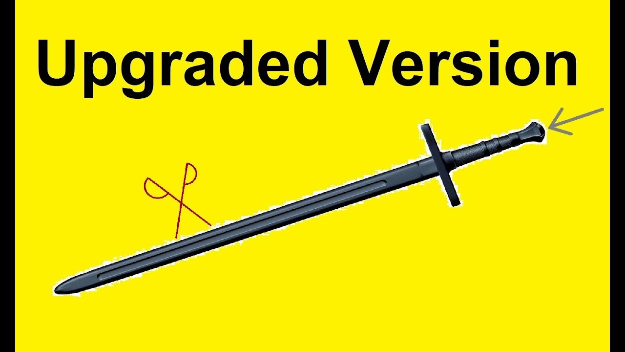 Cold Steel Bastard Training Sword Upgrade