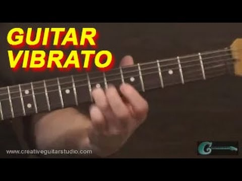 GUITAR TECHNIQUE: Mastering Guitar Vibrato