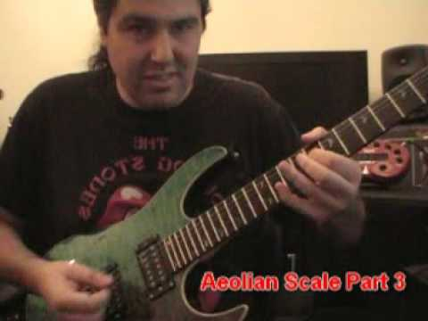 Minor/Aeolian Scale Part3 (Minor Blues Soloing)   Lick Of The Week 14