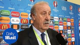 Vicente del Bosque: This is not a comfortable group for us - Daily Mail