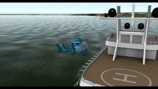 X plane Helicopters and Superyacht