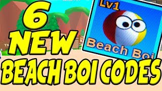 6 NEW BEACH BOI CODES! | CHALLENGE UPDATE | Roblox Mining Simulator
