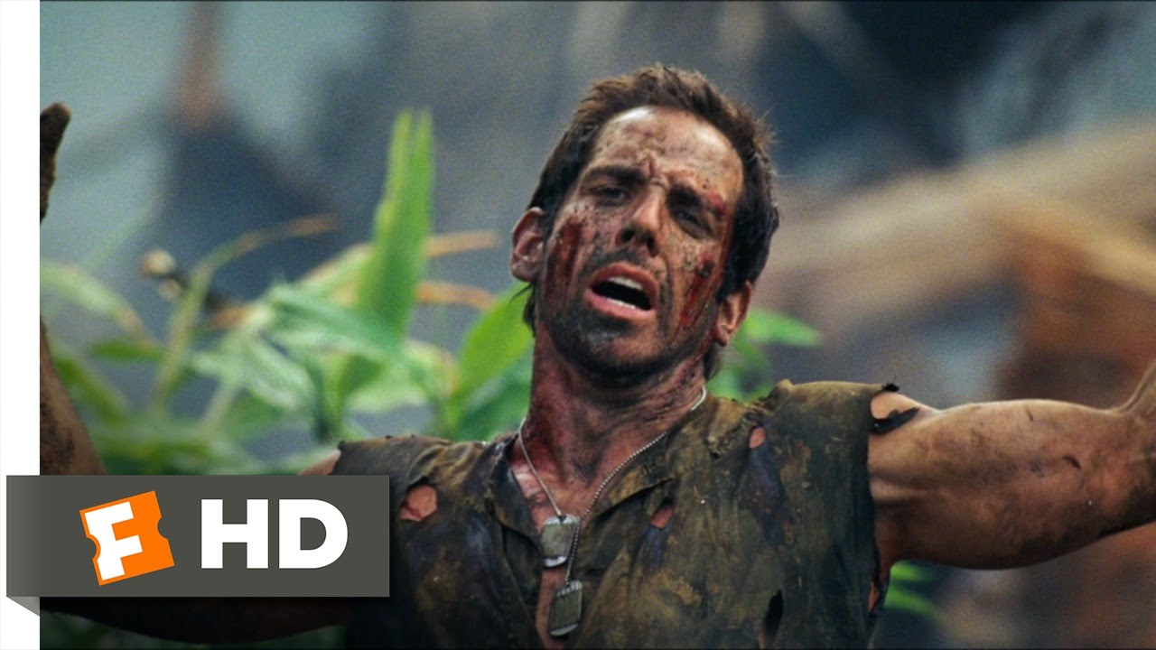 Tropic Thunder 10 10 Movie Clip You Re My Really Cool Brother 2008 Hd Youtube