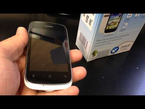HUAWEI ASCEND Y201 PRO U8666 Unboxing Video - CELL PHONE in Stock at www.welectronics.com
