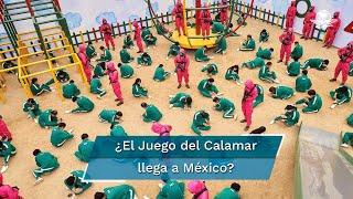 En medio de toda la parafernalia por la serie, en Puebla apareció un anuncio en el que hacen alusión a la serie de Corea del Sur