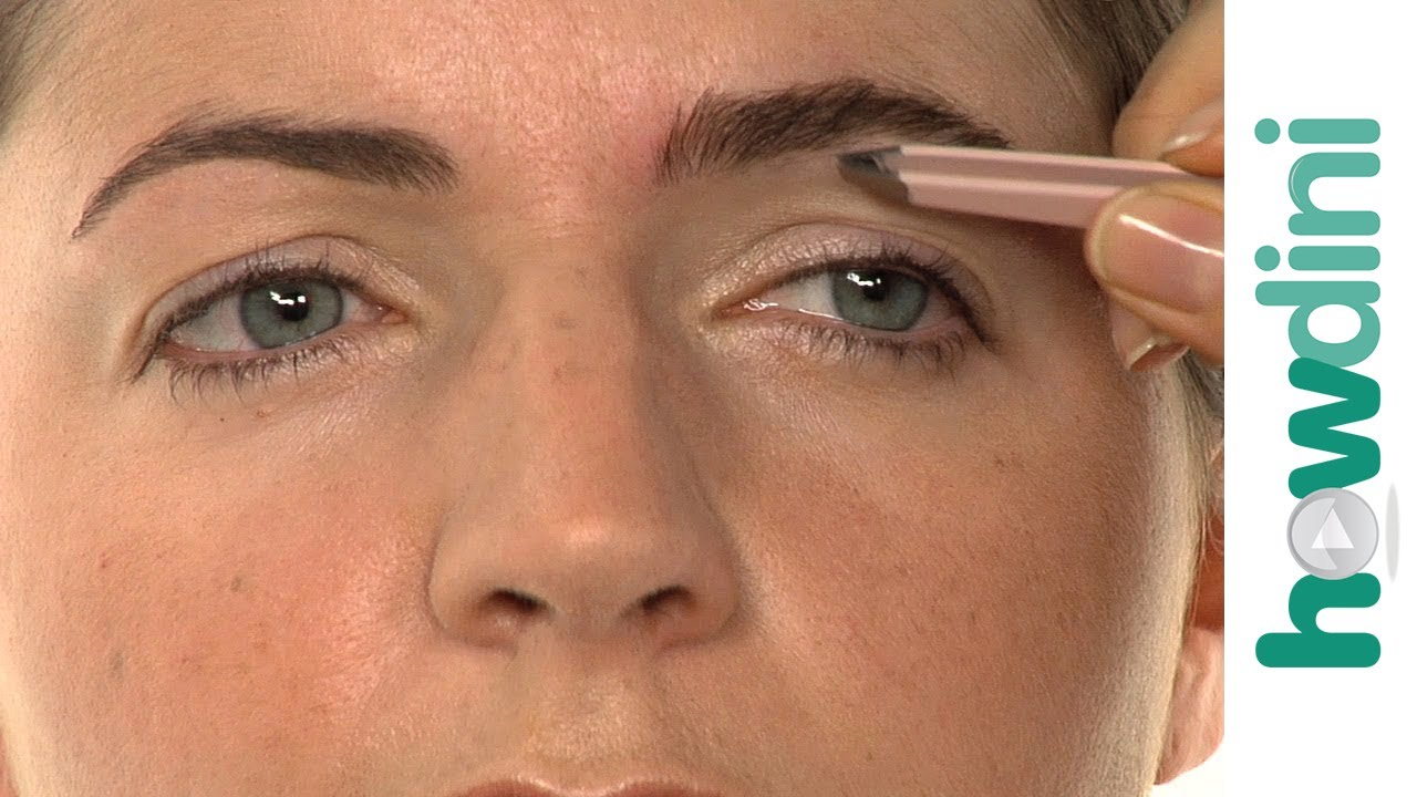 How To Shape Your Eyebrows Eyebrow Shaping Tutorial Youtube