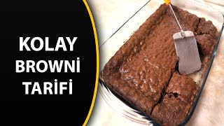 Kolay browni tarifi - ev yapımı browni