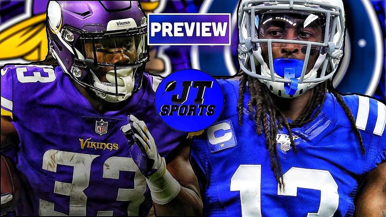 Minnesota Vikings vs Indianapolis Colts: Score updates, odds, time ...